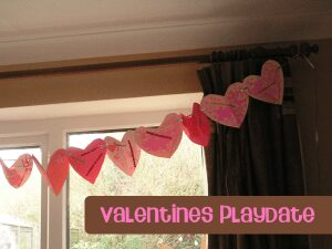Simple valentines day playdate for all ages to make