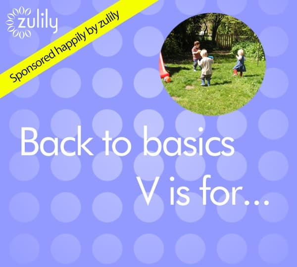 V is for verses - fun songs and rhymes to sing with you kids part of the back to basics series on Rainy Day Mum
