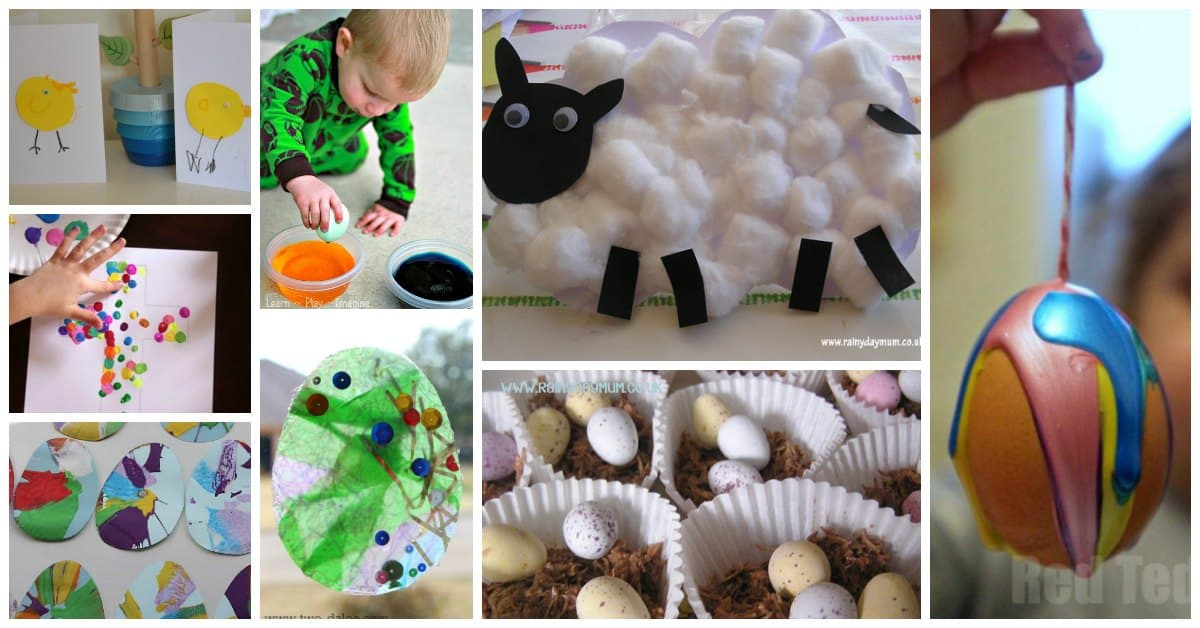 Easy Fun Easter Activities for Toddlers