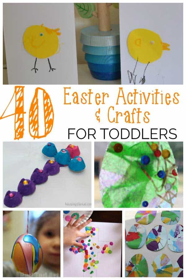 Over 40 Fun Easter Activities For Toddlers And Preschoolers