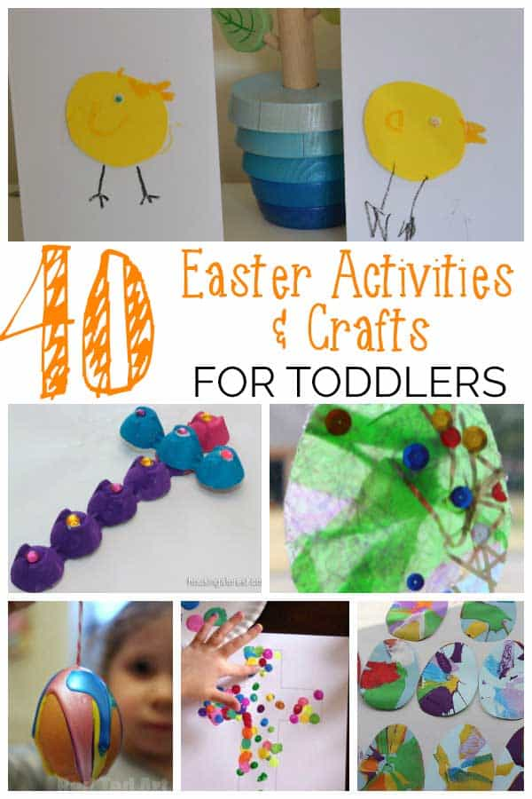 40+ Fun Easter Activities for Toddlers and Preschoolers