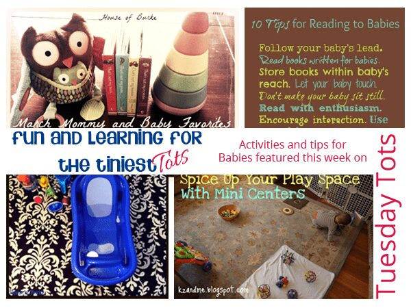 Baby Activities and Fun and Learning tips for the tiniest of Tots