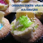 Creative baking with kids - butterfly cakes and cookies #cbias