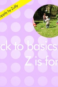Back to Basics Z is for…