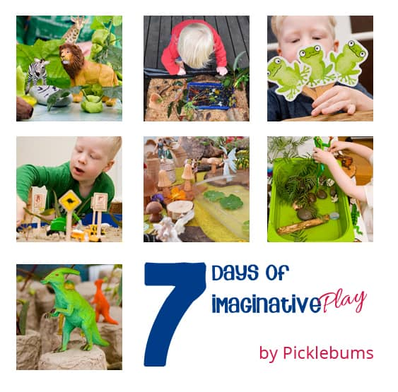 7 Days of Imaginative Play from Picklebums on Rainy Day Mum