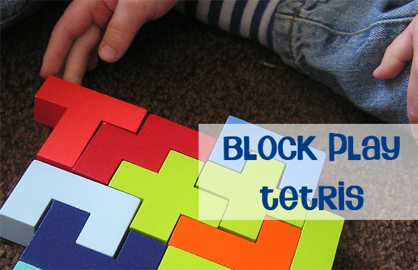 Block Play - Tetris for kids, fantastic for problem solving