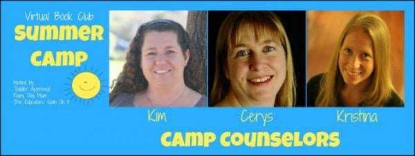 Virtual Book Club Summer Camp for kids - your Camp Counselors