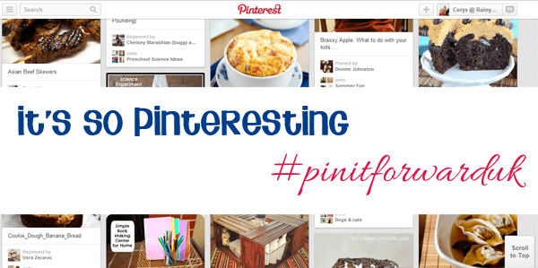 It's so pinterest #pinitforwardUK