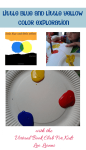 Exploring Color Theory with the Leo Lionni book Little Blue and Little Yellow