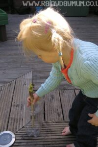 Morning weather monitoring toddler science at home