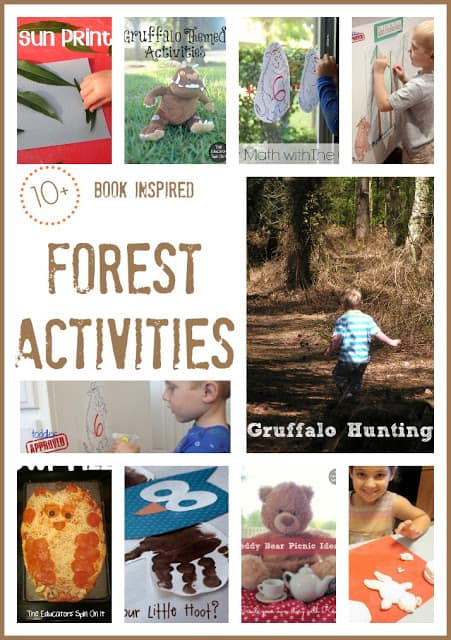 Virtual Book Club Summer Camp – end of Forest Week