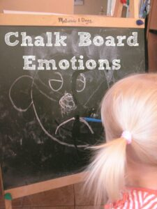Chalk Board Emotion