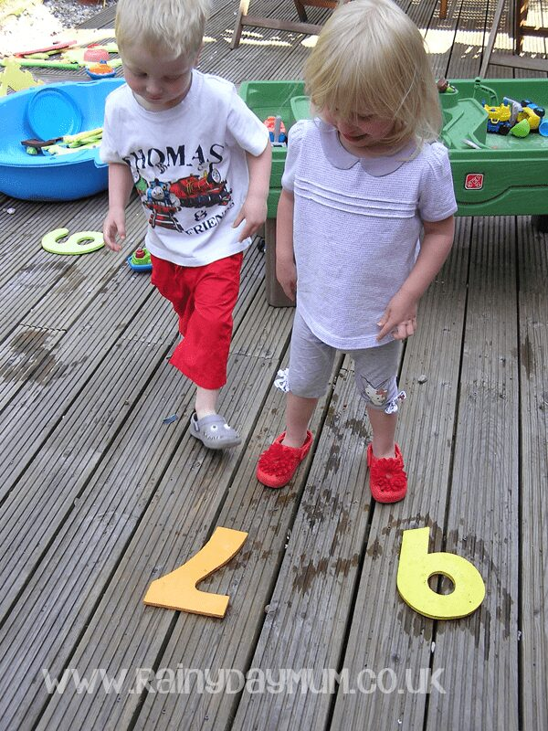 Number Recognition through Number Printing