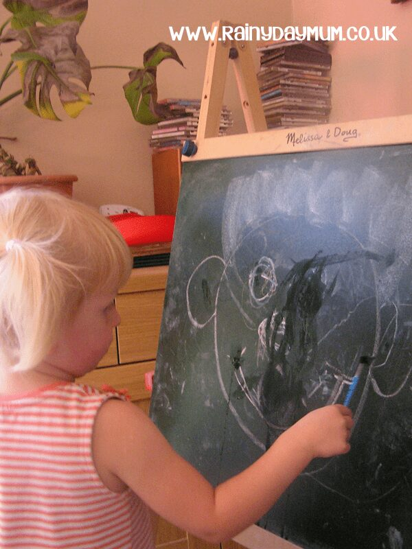 Tracing emotions on the chalkboard