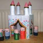 castle cardboard tubes