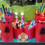 cardboard tube castle