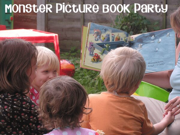 Picture Book Party for Romping Monsters Stomping Monsters