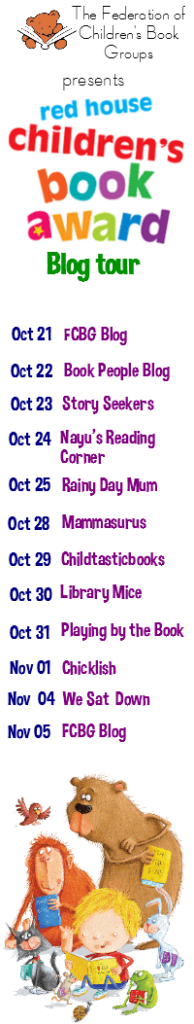 Red House Children's Book Award 2014 Blog Tour
