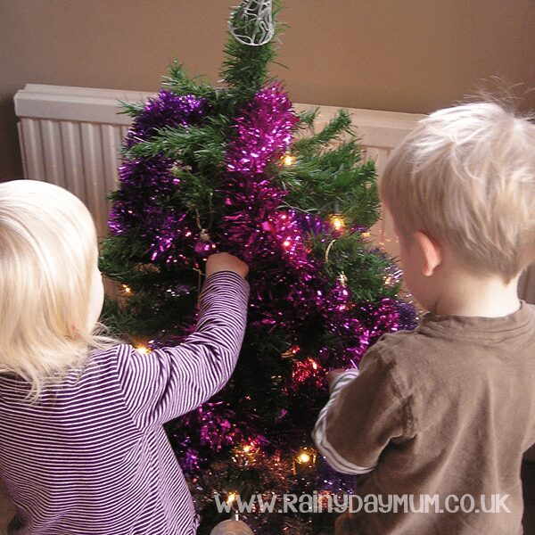 Create Christmas Memories to last a life time like giving the children a child sized Christmas tree to decorate themselves time and time again - check out the other ideas