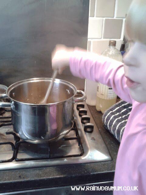 Granola Recipe to make with kids