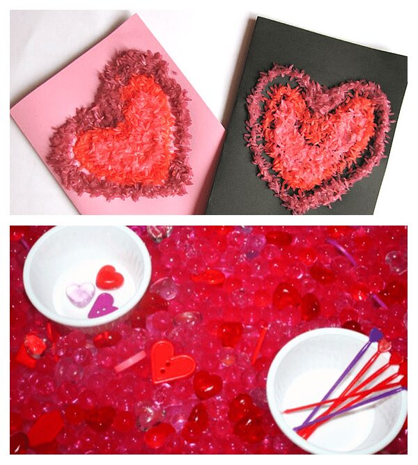 Valentines Sensory Play