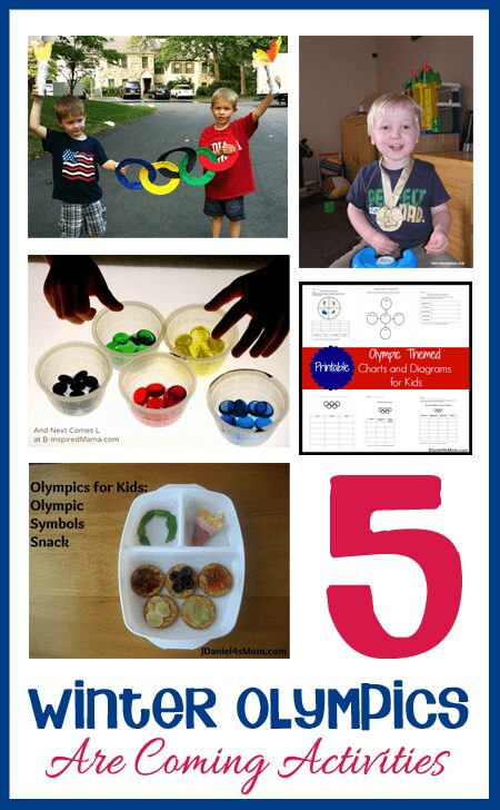 Ideas for the Winter Olympics to prepare in advance with your child