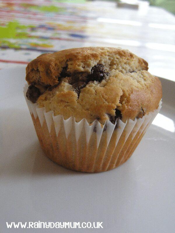 Triple Chocolate Chip Muffins Recipe