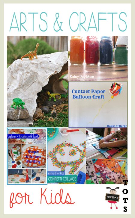 7 Projects for arts and crafts with Kids