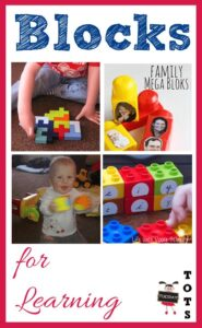 Using blocks for learning - from baby to preschoolers
