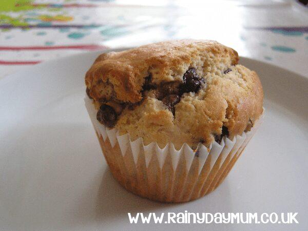 Triple Chocolate Chip Muffins