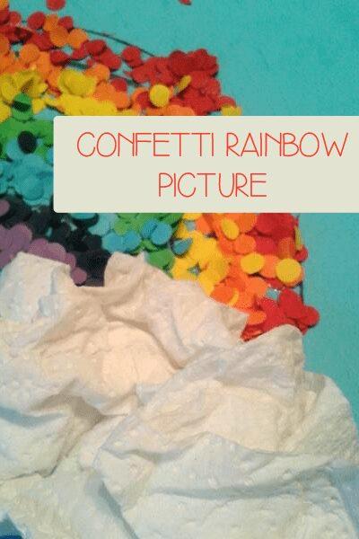 Confetti Rainbow Picture