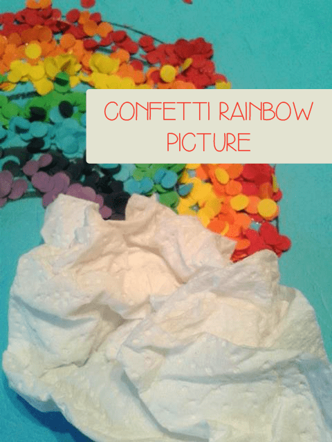 Confetti Rainbow Picture