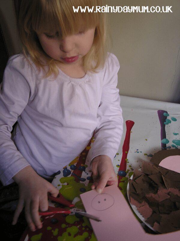 Easy Preschool Craft a Paper Plate Monkey