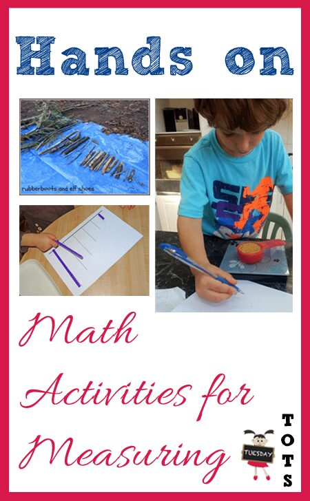 Hands on activities for measuring