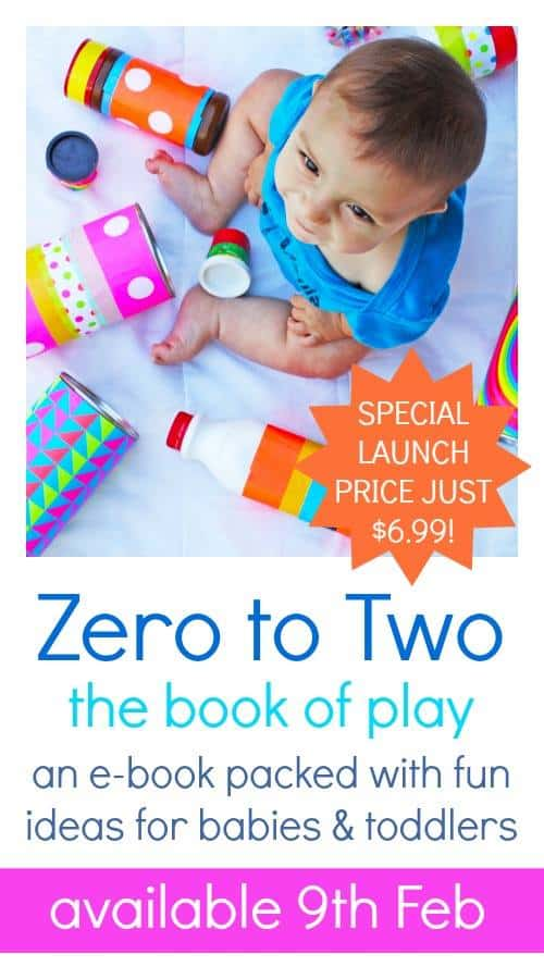 25 ideas for babies and young toddler, Zero to Two the Book of play