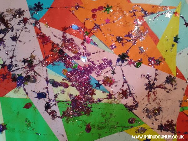 Preschool Collage Mixed Media Art Work