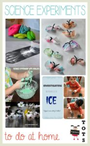 Simple Science Experiments to do at home