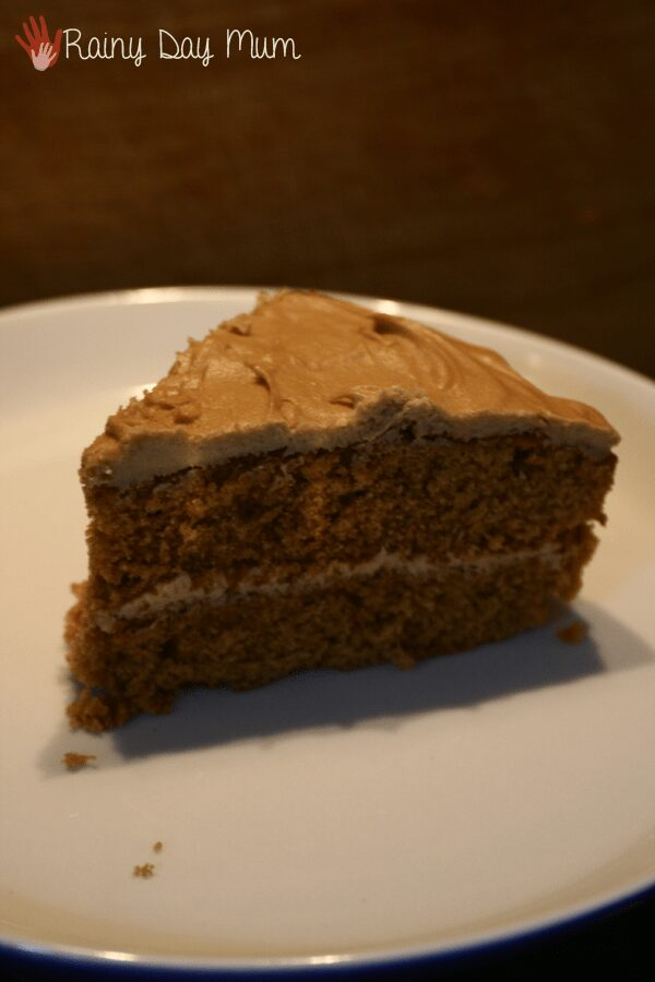 Coffee Cake with Mocha Buttercream Frosting Recipe