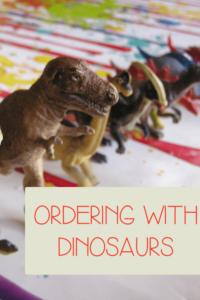 Ordering with Dinosaurs