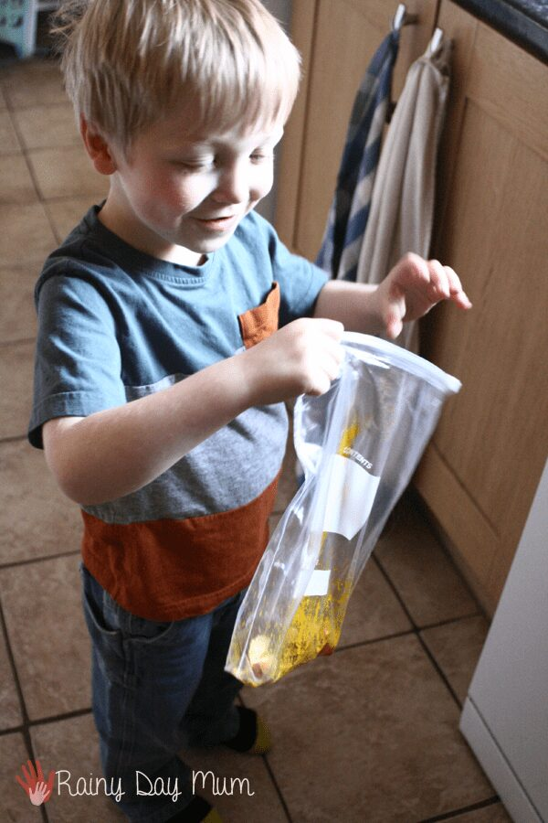How to dye egg shells with kids
