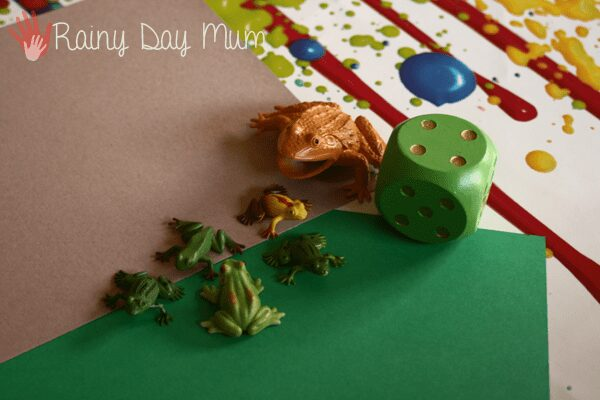 Frog Counting Game Materials