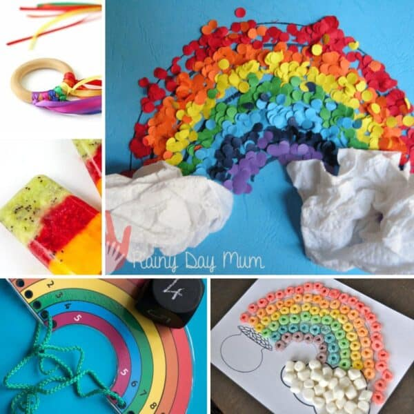 Fun Rainbow Themed Activities, Recipes and Crafts for Toddlers and Preschoolers