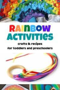 rainbow activities recipes and crafts