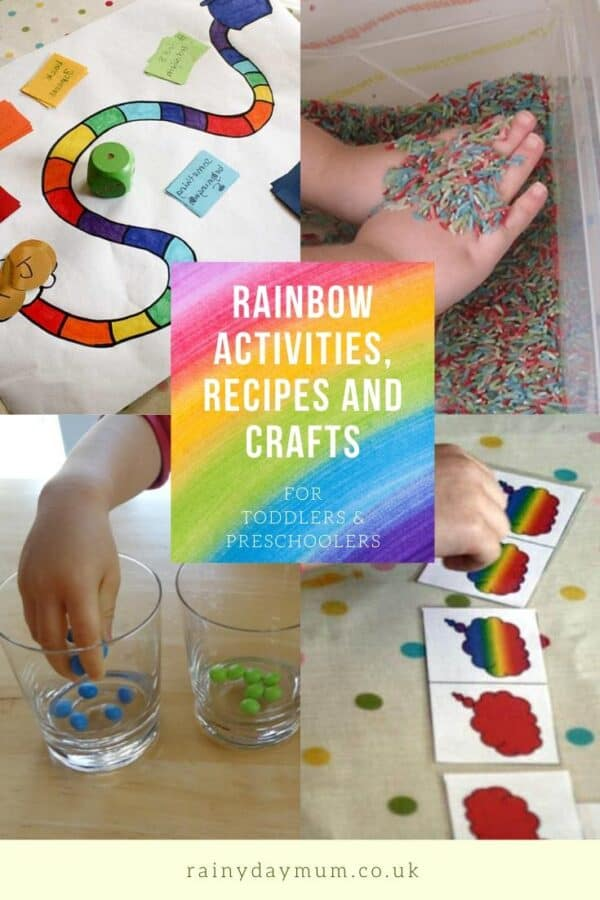 rainbows activities crafts and recipes for toddlers and preschoolers