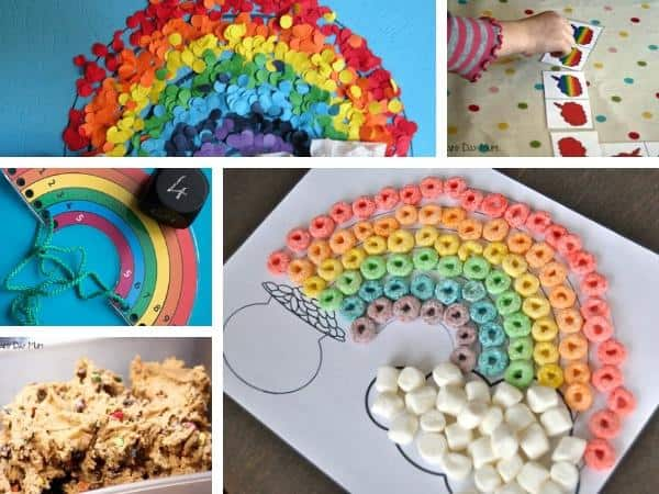rainbows crafts for toddlers