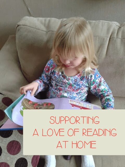 Supporting a love of Reading at home #loveliteracy