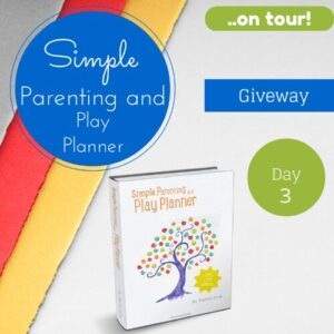 Simple Parenting and Play Planner- on tour