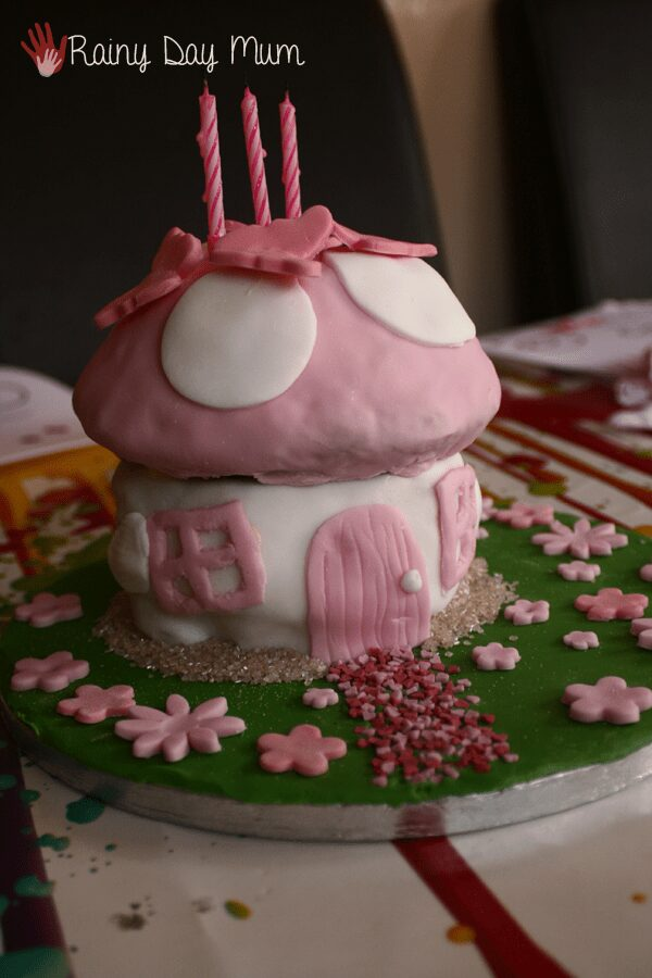 How to make a fairy toadstool birthday cake