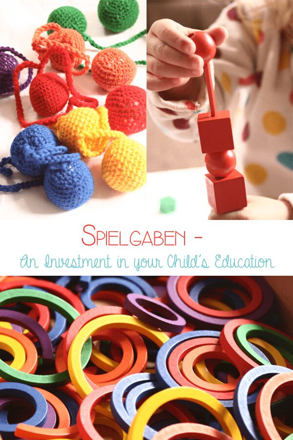 Spielgaben wooden education toys