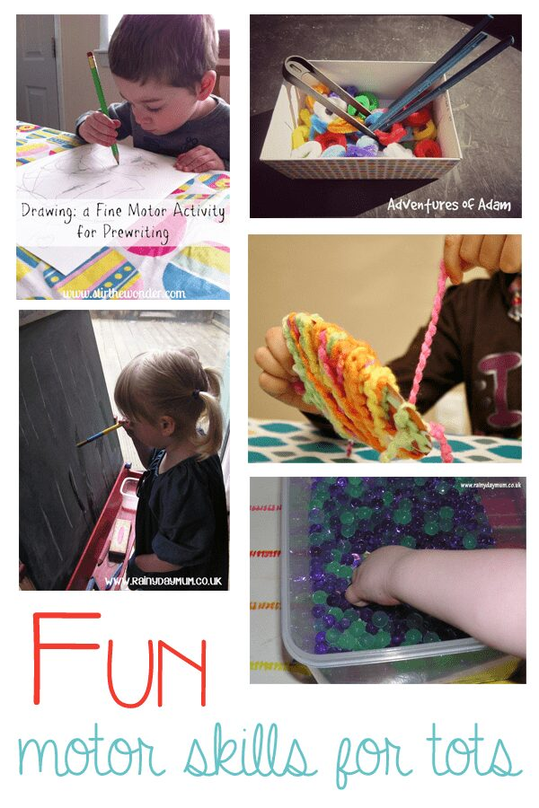 5 Fine motor skills activities for tots